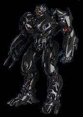 Vehicon (AOE Black Concept Promo) Robot (Barricade247) Tags: black age transformers extinction trax aoe ksi tf4 vehicon