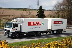 MAN - SPAR Supermarket (scotrailm 63A) Tags: trucks spar supermarkets lorries