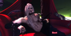 sensual demon (Azazel Daemon) Tags: gay boy guy hair long pale sensual master demon bether