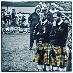 Kilts & Sporrans (FotoFling Scotland) Tags: scotland kilt scottish event tradition northberwick tartan bulging highlandgames kilted selectivecolourisation meninkilts scotsmen sporrans instagram naeknickers