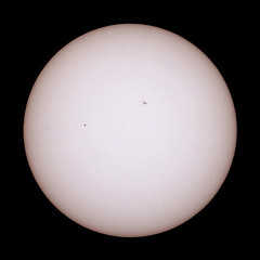 Mercury transit (mkk707) Tags: sun mercury filter astrophotography transit planet sunspot refractor apochromatic canoneos600d tsapo65q