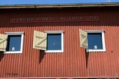 Makaronitehdas (Paivi Hannele) Tags: sea building landscape hanko meri luonto ranta thisisfinland pitsihuvila ourfinland visithanko