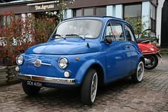 1970 Fiat 500 (davocano) Tags: brooklands ock415h