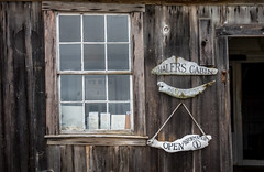 Happy Window Wednesday (randyherring) Tags: california park ca window sign point us cabin afternoon unitedstates outdoor historic historical pointlobos whaler carmelbythesea pointlobosstatenaturalreserve
