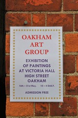 Oakham Art Group Exhibition Victoria Hall Oakham Rutland (@oakhamuk) Tags: exhibition rutland oakham victoriahall martinbrookes oakhamartgroup