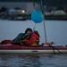 Large Peter and Linda Smooching at Luminary flotilla at Break Free PNW 2016 photo by Alex Garland img_2128-2