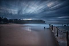 Bilgola Beach Long Exposure (RoosterMan64) Tags: longexposure seascape clouds sunrise au australia nsw newsouthwales rockpool northernbeaches leefilters bilgolabeach