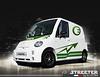 Streeter wit-groen (franskuijpers) Tags: streeter bestelwagen 45km elektrischvervoer