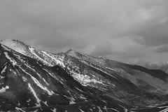 Snow Capped pt. 4 (Shakti Priyan Nair) Tags: trip blackandwhite white mountain snow black mountains monochrome landscape cloudy outdoor pass snowcapped leh ladakh khardungla highest clouded motorable