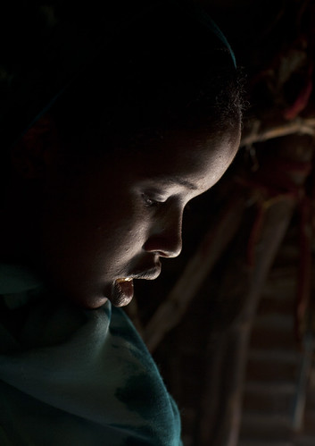 Inside a refugee house - Somaliland
