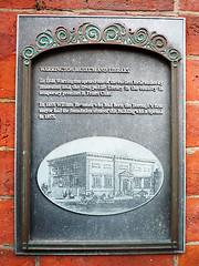 Photo of Black plaque number 8272