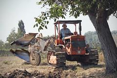 Fra e il trattore (Elisa Severi) Tags: italy tractor italia campagna land farmer plow agriculture terra plowing campaign cultivation aratro trattore agricoltura cultivate contadino coltivazione aratura agricoltore coltivare elisaseveri