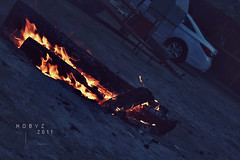 .37 (hobyz) Tags: camping cars night canon fire photography nikon 1855mm      550d  t2i