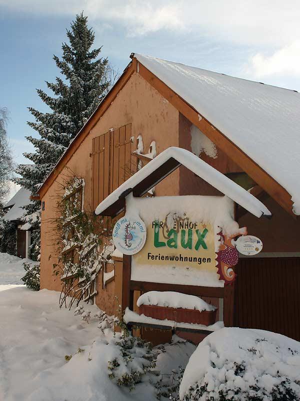 Ferienhof Laux im Winter