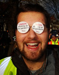 Clear Sighted (brightondj) Tags: uk march brighton protest demonstration strike unions n30 unison tradeunions november30thstrike brightonhoveunison