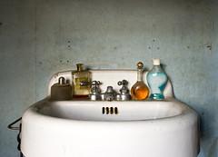 (ketible) Tags: house 20d abandoned canon bathroom perfume sink decay massachusetts