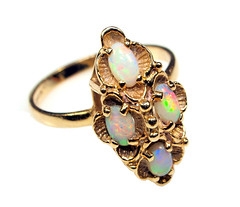 Antique Ring (cathy.scola) Tags: gold antique jewelry ring whitebackground onwhite opals whiteground atsh msh1211 msh121118