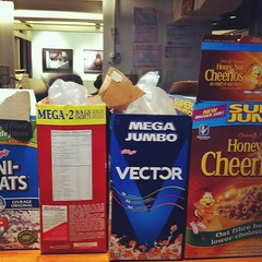 breakfast bar at work (All About Eve) Tags: breakfast bar work cereal travail agency cheerios vector agence petitdjeuner crales