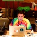 """Tim Owens builds nuclear bomb on MacBook Pro during 2011 VSTE Conference. • <a style=""""font-size:0.8em;"""" href=""""http://www.flickr.com/photos/29096601@N00/6469323875/"""" target=""""_blank"""">View on Flickr</a>"""