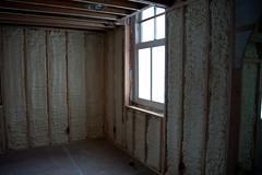 Bedroom corner (EyePulp) Tags: brick illinois construction unitedstates interior object plumbing insulation location structure manmade framing electrical studs 2x4 lumber remodeling naturalgas towanda gaspipe churchhome closedcellfoam