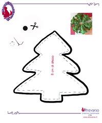 pattern felt christmas trees (OltreversoLab) Tags: decorazioninatale ideepernatale christmascraftsprojects addobbialberonatale addobbinatalefaidate