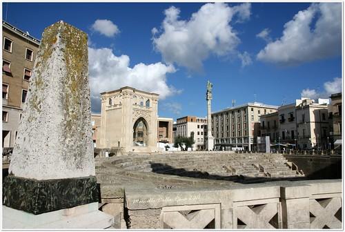 italia puglia lecce anfiteatro (Photo: MarcelloDR on Flickr)