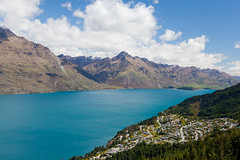 Dazzling mountain ranges (Kalabird) Tags: newzealand mountains nature southisland queenstown bobspeak fiordlands lakewakitipu