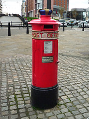 "Photo of Liverpool ""Special"" Pillar Box black plaque"