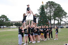 LHSAA Championship 2011 - LHS cheer practice 178 (some NOLA) Tags: school high lakeshore practice cheer cheerleader lhs
