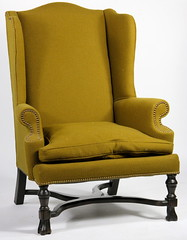 23. Vintage Wing Chair