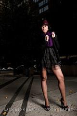 HOT ON THE CASE (DLaughinghouseImages) Tags: street black male dress purple clothes softbox lexingtonavenue 53rdstreet alienbees coutre pocketwizards babyann nikon2470mm babyann53rdstreetlexingtonavenue
