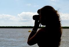 (emiliokuffer) Tags: camera summer silhouette rio river photographer silueta camara fotografo