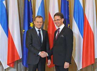 Spotkanie premierów Polski i Finlandii
