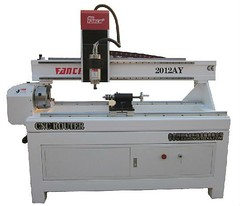 Cylinder CNC Router 2012AY (Steel Seamless Pipe Liya) Tags: cncrouter woodrouter woodworkingmachine 3dcarvingmachine