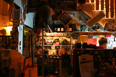Marwood's (Tara-Leigh) Tags: christmas city winter red coffee yellow fun lights mugs cafe amazing hipsters warm brighton tea hipster coffeeshop christmaslights indie lukeskywalker cosy winterwarmer canon1000d hipstercafe
