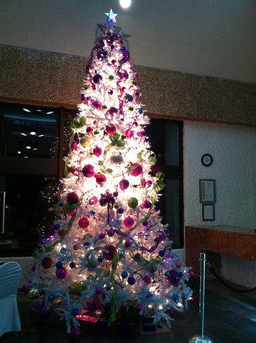 XMas tree in El Cid Morro