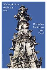 Xmas card 2008 (version 1) (guenther_haas) Tags: christmas xmas germany weihnachten deutschland december gimp card dezember merrychristmas 2008 minster weihnachtskarte ulm happynewyear neuulm froheweihnachten gutenrutsch ulmminster weihnachtsgrse