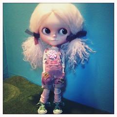 Lucca loves her new outfitt