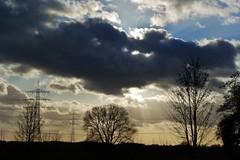 Clouds (ivlys) Tags: winter sky clouds germany deutschland himmel wolken sunrays sonnenstrahlen ivlys worfelden