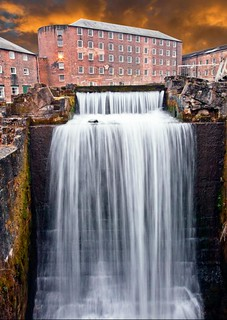 Cromford water mill