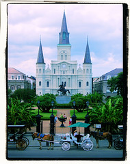 Jackson Square, New Orleans (hottadanx) Tags: street new travel orleans bourbon