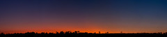 Sun setting over Dovedale (J-Hob) Tags: panorama peakdistrict fennybentley sunset stitched fuji s5pro nikon 70200 silhouette trees red twilight dovedale