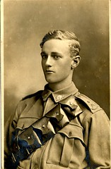 Number 171, GREER, Ernest Grenfell (State Records SA) Tags: portrait blackandwhite records sepia soldier a