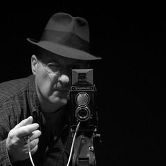 Me and the Voigtlander Brillant (xddorox) Tags: portrait self canon montreal voigtlander powershot g12 brillant
