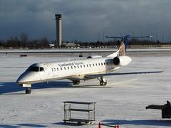 N275SK (redlegsfan21) Tags: new york airport buffalo continental niagara international chq express buf airlines rp embraer chautauqua erj145 kbuf n275sk