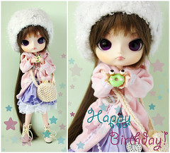 Happy Birthday! (heavendrop) Tags: dal rement toffee leeke obitsu 23cm  leekworld lizbel