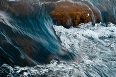 Mini-Rapid (nmp.hotography) Tags: park blue white motion blur color tourism nature water beautiful rock stone photography 50mm virginia movement nikon photographer shadows bubbles richmond f18 vera rva jamesriver ponypasture nmphotography d3100 nataliepedraja