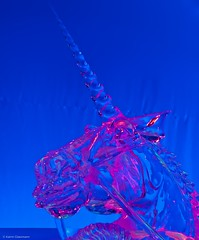 Unicorn Close-Up (katrin glaesmann) Tags: winter cold ice december hamburg exhibition unicorn eis ausstellung einhorn icecarving eisskulpturen deichtorhallen 2011 icecarver 8c