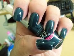 Show, Risqué (thaisfartes) Tags: azul teal nail nails nailpolish unhas risque unha esmaltes esmalte