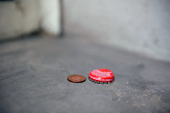 CORPORATE SHOWDOWN (DESPITE STRAIGHT LINES) Tags: street city london public corporate nikon icons cola coke penny cocacola brand iconic showdown brands finance bottletop royalmint d700 sorporations ilobsterit